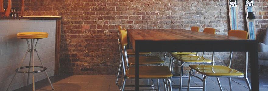La recherche d'un bon restaurant sur internet